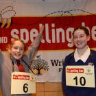 Luca Holloway (13, Kavanagh College, left) and Annie Schofield (14, South Otago High School),...