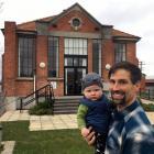 Dads & Bubs Move'n co-ordinator Matthew Smith and his son, Gabriel Onarheim-Smith, are set...