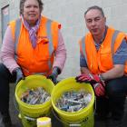 DCC waste and environmental solutions education and promotions officer Catherine Gledhill and...