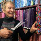 Threads Needlecrafts owner Sue McKinney is closing her patchwork and embroidery shop in Dunedin....