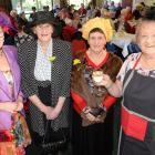 Hyacinth Bucket lookalikes (from left) Marianne Sherer, Avro Carman, Carol Partington and Thelma...