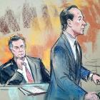 U.S. President Donald Trump's former campaign chairman Paul Manafort in Washington DC courtroom...