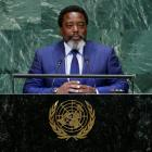 Jospeh Kabila, President of the Democratic Republicof Congo, addresses the United Nations General...