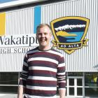 Matty McLean is over the moon that his old school's hosting a Pride Week
