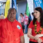 Nauru President Baron Waqa and Jacinda Ardern spoke about the issue of refugees on the island....