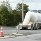 Balclutha residents are questioning the positioning of a pedestrian refuge on State Highway 1 to...
