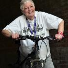 Bindi Bezar (70), of Dunedin, is ready for her 24-hour fundraising challenge in support of...