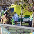 A number of children from South End School, Carterton, were admitted to hospital. Photo SNPA via...