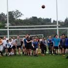 Run with Heart interfaculty football match fundraiser