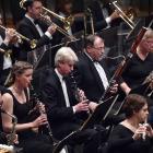 Dunedin Symphony Orchestra in the Dunedin Town Hall on Saturday night. Photo: Peter McIntosh