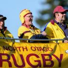 North Otago fans show their support  on Saturday. Photos: Getty Images
