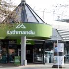 Kathmandu's Dunedin outlet. Photo: Linda Robertson