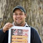 University of Otago Maori Students Association Maori Language Week organiser Tukukino Royal holds...