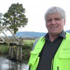 Tahakopa historian Don Sinclair says negotiations to build a track to a Catlins heritage bridge...