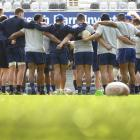 The Otago players talk about tonight's game at a training run at Forsyth Barr Stadium yesterday...
