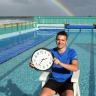 St Clair Hot Salt Water Pool life guard Oli Johnston is counting down the hours until the pool...