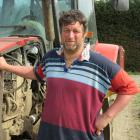 Hadleigh Germann, of Aparima, is the new dairy group chairman of Federated Farmers Southland....