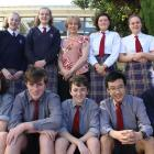 Year 10 pupils from Kavanagh College who recently had success at the Growing NZ Innovation...