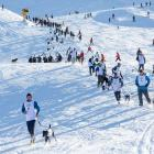The Dog Derby, part of the Queenstown Winter Festival, in 2016. PHOTO: SUPPLIED