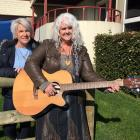 Country Music Dunedin Awards president Sharyn Anderton (left), of North Taieri, and secretary...