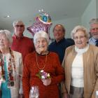 It was a day to remember for Wanaka's Jean Hudson (centre) yesterday  as she celebrated her 100th...