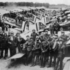 A squadron of the British air scouts in France, who have done first-class work. - Otago Witness,...