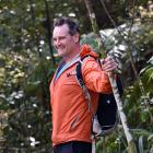 Andy Thompson walks off the excitement of winning the New Zealand Outdoor Instructors'...
