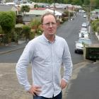 Baldwin St resident Andrew Cridge says the level of frustration directed at the Dunedin City...