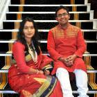 New citizens Aparana Sen and Amita Deb at the Dunedin Municipal Chambers yesterday. PHOTO:...