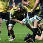 Former Hurricanes loose forward Blade Thomson has been named in Scotland's latest squad. Photo:...
