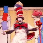 Nick Wilkinson in The Cat in the Hat. Photos: Supplied