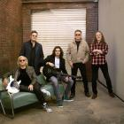 The Eagles are coming: (from left) Joe Walsh, Vince Gill, Deacon Frey, Don Henley, Timothy B....