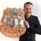 Otago University  club captain Andy Ellis says the Ainge Trophy is an important piece of history...