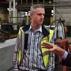 Farra Engineering hosted a visit yesterday for, from left, New Zealand Trade & Enterprise...
