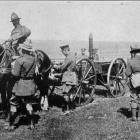 New Zealand officers judging the field cookers at a horse show on the western front. - Otago...