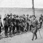 His Majesty King George V on a recent visit to New Zealand troops in France.