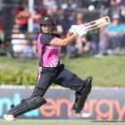 Suzie Bates in action for New Zealand against Australia in the second T20 match. Photo: Getty
