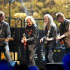 The Eagles on stage in Inglewood, California, last month. Photo: Getty Images