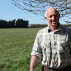 Southland Rural Support Trust chairman John Kennedy at his Winton farm. 