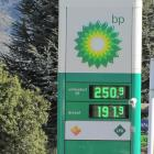 Fuel prices at Wanaka reached record prices in early October. Photo: Mark Price