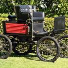 Thomas Kempthorne's fully restored 1901 Locomobile. Photo: Stephen Jaquiery