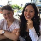 Justine Sachs, left, and Nadia Abu-Shanab Photo: Supplied via RNZ