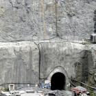 The  portal of the Frasers underground mine  at Macraes in East Otago in December 2010....