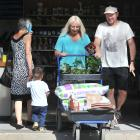 Dunedin home gardeners Ross and Sheryl McCammon stock up on plants and compost at Nichols...