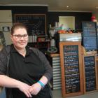 Station Cafe owner Casey Linklater is still looking for a silver lining after being asked to...