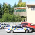 Police executed a search warrant at a Parsons Rd address in Oamaru in what was called a gang...