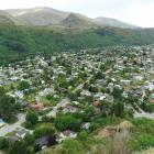 Arrowtown as pictured from Feehly Hill. Photo: Guy Williams