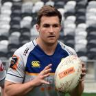 Otago fullback Michael Collins prepares for this weekend's Ranfurly Shield match against Waikato...