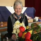 Wakanui, and Federation, WI member Jeanette Cuthbertson shows how to create a WI `Lonely Bouquet' to give away. Photos: Toni Williams