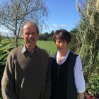 Duncan and Diana Lundy are looking forward to this year's Rangiora show. Photo: David Hill
